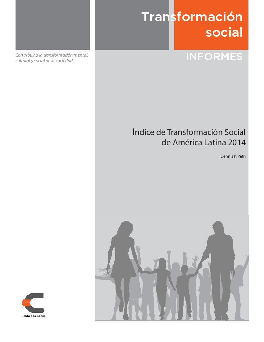 Índice de Transformación Social de América Latina 2014